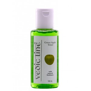Buy Vedic Line Green Apple Toner - Nykaa