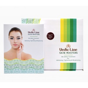 Buy Vedic Line Bio White Kit For Whitening, Tightening & Brightening with Firming Pack 50ml Free - Nykaa