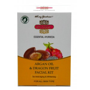 Buy Inveda Essential Ayurveda Argan Oil & Dragon Fruit Facial Kit  - Nykaa