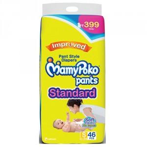 Buy MamyPoko Pants Standard Diapers - S (46 Pieces) - Nykaa