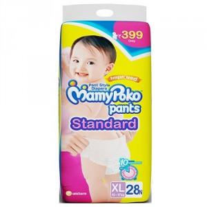 Buy MamyPoko Pants Standard Diaper - XL (28 Pieces) - Nykaa