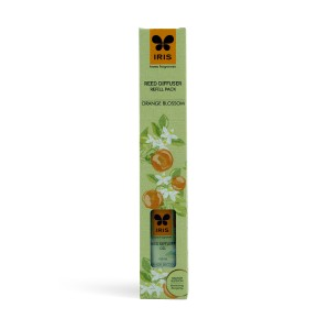 Buy Iris Reed Diffuser Refill Pack with 16 Sticks (100ml) - Orange Blossom - Nykaa