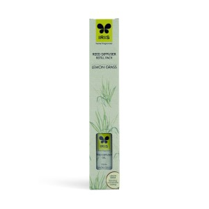 Buy Iris Reed Diffuser Refill Pack with 16 Sticks (100ml) - Lemongrass - Nykaa