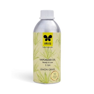 Buy Iris Vaporizer Oil Ready to Use Can (1ltr) - Lemongrass - Nykaa