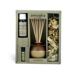 Buy Herbal Iris Amogha Reed Diffuser with 8 Sticks - Patchouli - Nykaa