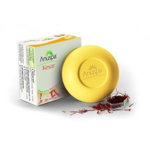 Buy Anuspa Kesar Soap - Nykaa
