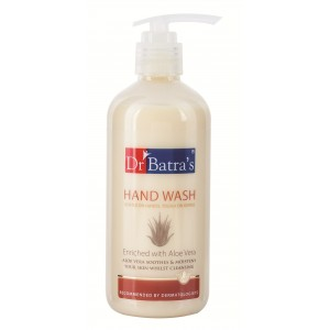 Buy Herbal Dr. Batra's Hand Wash Enriched With Aloe Vera - Nykaa