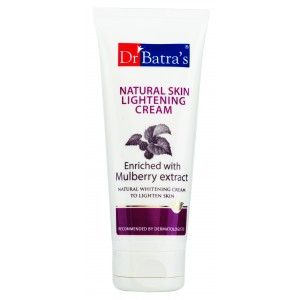 Buy Dr. Batra's Natural Skin Lightening Cream - Nykaa