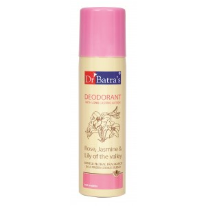 Buy Dr. Batra's Deodorant Spray For Women - Nykaa