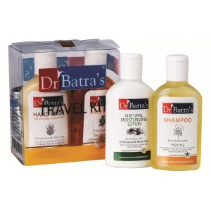 Buy Herbal Dr Batra's Travel Kit (4x30ml / gm) - Nykaa
