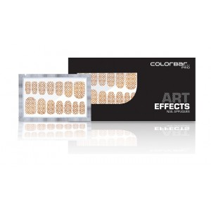 Buy Colorbar Art Effects Nail Appliques - Floral Delicacy 004 - Nykaa