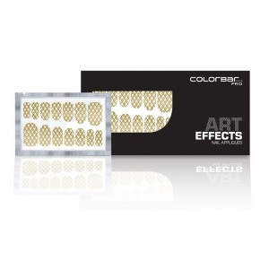 Buy Colorbar Art Effects Nail Appliques - Double Crossed 006 - Nykaa