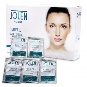 Buy Jolen Perfect Whitening Facial Kit - Pouch - Nykaa