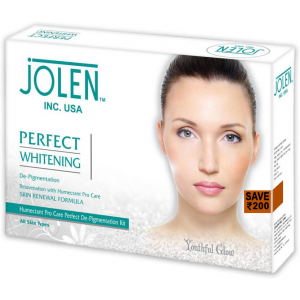 Buy Jolen Perfect Whitening Facial Kit - Pouch(Save Rs.200) - Nykaa