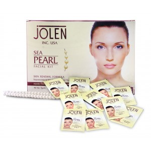 Buy Jolen Sea Pearl Facial Kit - Pouch - Nykaa