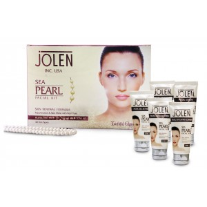 Buy Jolen Sea Pearl Facial Kit - Tube - Nykaa