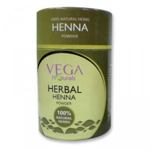 Buy Vega Natural Herbal Henna Powder  - Nykaa