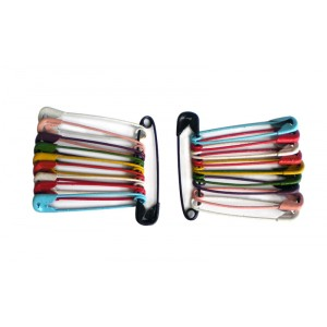 Buy Vega Safety Colorful Pin SP - 03 (Pack of 20) - Nykaa