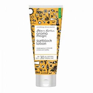 Buy Aroma Magic Sunblock Lotion SPF++30 UVA/UVB - Nykaa