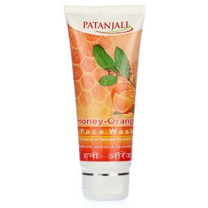 Buy Patanjali Orange Honey Face Wash - Nykaa