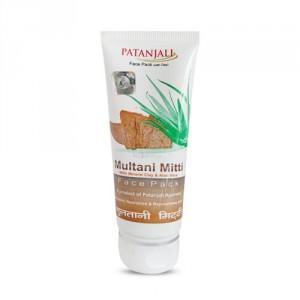 Buy Patanjali Aloevera Multani Mitti Face Pack - Nykaa