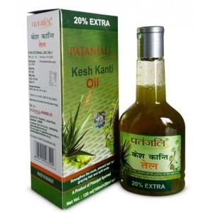 Buy Herbal Patanjali Kesh Kanti Hair Oil - Nykaa