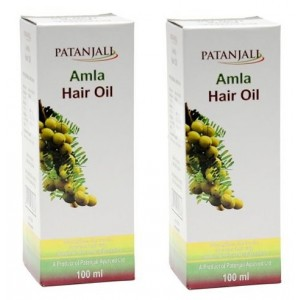 Buy Patanjali Amla Hair Oil (Pack Of 2) - Nykaa