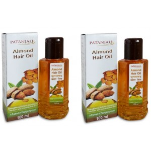 Buy Patanjali Almond Hair Oil (Pack Of 2) - Nykaa