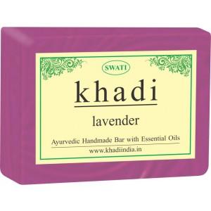 Buy Swati Khadi Lavender Soap - Nykaa