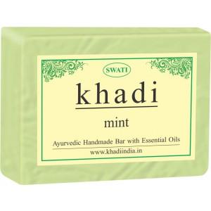 Buy Swati Khadi Mint Soap - Nykaa