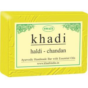 Buy Swati Khadi Haldi - Chandan Soap - Nykaa