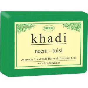 Buy Swati Khadi Neem - Tulsi Soap - Nykaa