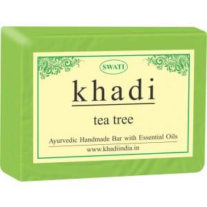 Buy Swati Khadi Tea Tree Soap - Nykaa