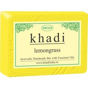Buy Swati Khadi Lemongrass Soap - Nykaa