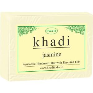 Buy Swati Khadi Jasmine Soap - Nykaa