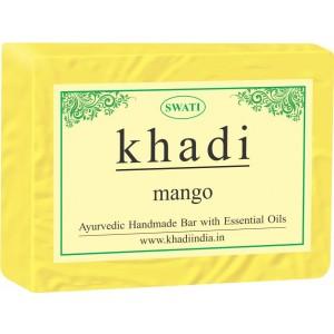 Buy Swati Khadi Mango Soap - Nykaa