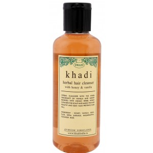 Buy Swati Khadi Herbal With Honey & Vanilla Hair Cleanser - Nykaa