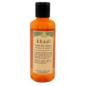 Buy Swati Khadi Herbal With Honey & Almond Oil Hair Cleanser - Nykaa