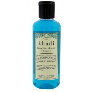 Buy Swati Khadi Herbal With Mint Oil Hair Cleanser - Nykaa