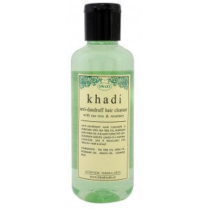 Buy Swati Khadi Anti Dandruff Hair Cleanser With Tea Tree & Rosemary - Nykaa