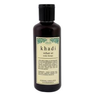 Buy Swati Khadi Trifladi Tel Scalp Therapy - Nykaa