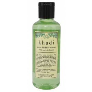 Buy Swati Khadi Neem With Neem & Lemon Facial Cleanser - Nykaa