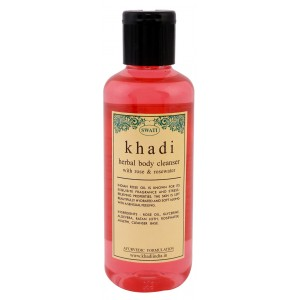 Buy Swati Khadi With Rose & Rosewater Body Cleanser - Nykaa
