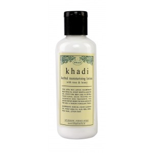 Buy Swati Khadi Herbal With Rose & Honey Moisturising Lotion - Nykaa