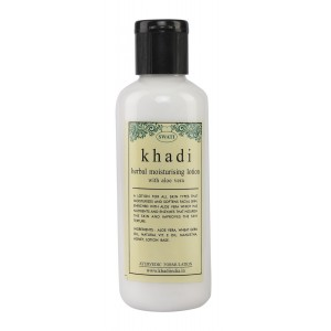 Buy Swati Khadi Herbal With Aloe Vera Moisturising Lotion - Nykaa