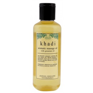 Buy Swati Khadi Aromatic Massage Oil With Geranium Oil - Nykaa