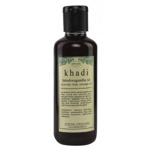 Buy Swati Khadi Balashwagandha Tel Ayurvedic Body Massage Oil - Nykaa
