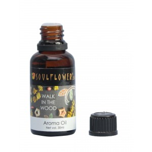 Buy Soulflower Walk In The Wood Aroma Oil - Nykaa