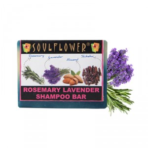 Buy Soulflower Rosemary Lavender Shampoo Bar - Nykaa