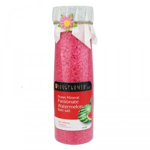 Buy Soulflower Aroma Bath Salt - Passionate Watermelon - Nykaa